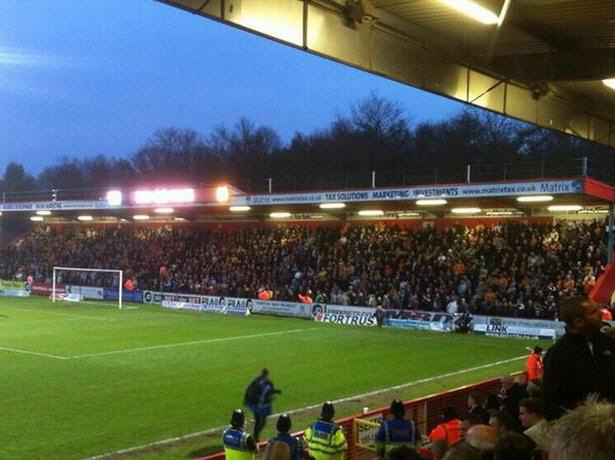 WW fans at Stevenage